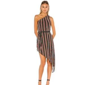 House of Harlow 1960 X Resolve Arlyn Striped Dress